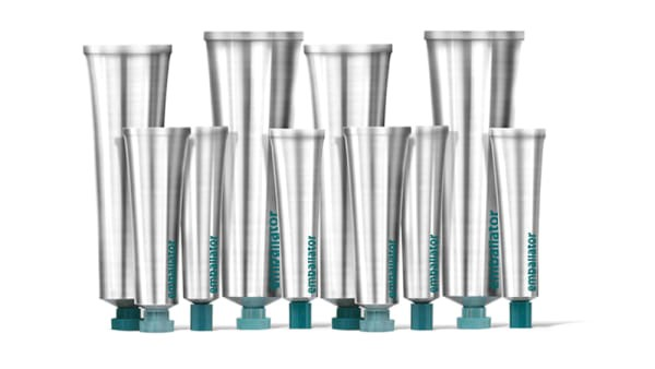 Emballator launches tubes in recycled aluminium