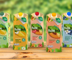 Fuze Tea – first iced tea brand filled in SIGNATURE packaging solution from SIG