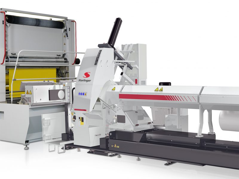 Starlinger SPB melt filter enables high recyclate content in woven packaging made of PP