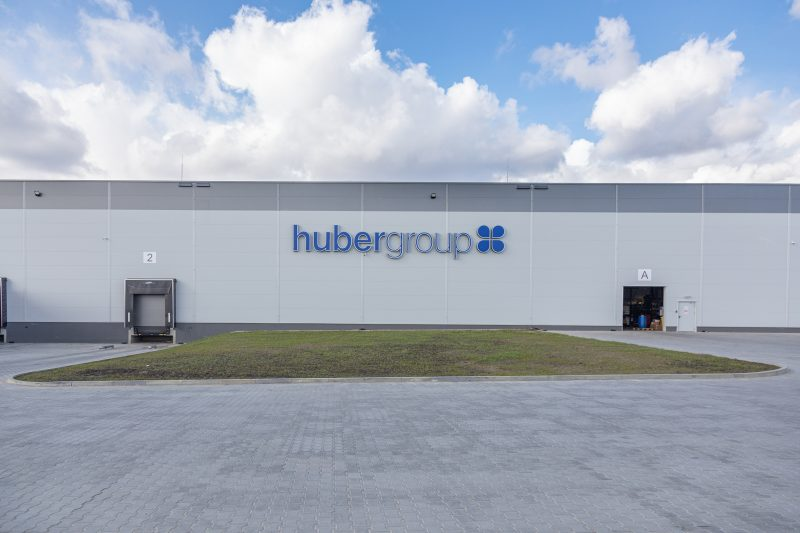 hubergroup opens new production plant in Poland