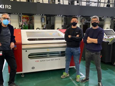 Bringing sustainable platemaking closer to the printing press