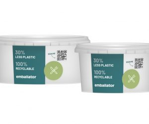30% less plastic in reduced packaging from Emballator