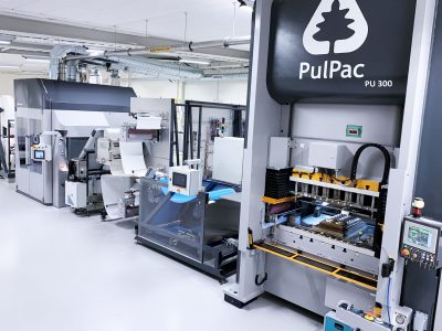 AR Packaging and PulPac expand partnership and bridge volume capacity to fast-track truly sustainable and affordable fiber products to market using revealed PulPac PU300 production platform