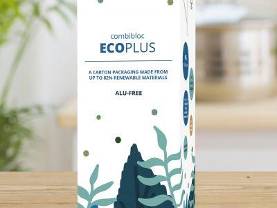 SIG extends combibloc ECOPLUS aluminium-free packaging material
