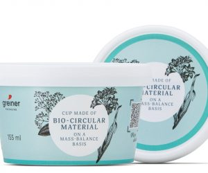 Greiner Packaging produces first cup prototypes made of BornewablesTM – a portfolio of premium polyolefins designed for circularity by Borealis