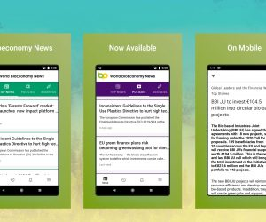 World's first news app for the global circular bioeconomy