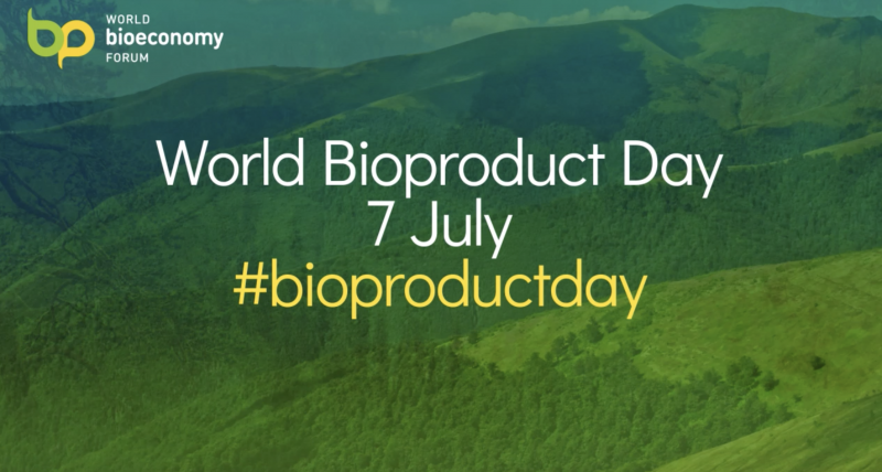 The World BioEconomy Forum enhances awareness of bio-based products with the launch of #Bioproductday