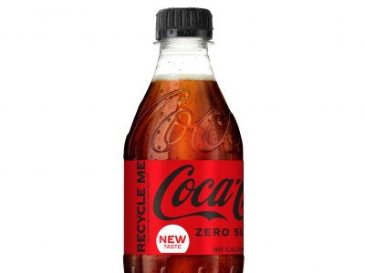 Coca-Cola continues sustainability journey as it ends use of non-recycled plastic in all on-the-go bottles sold in Great Britain