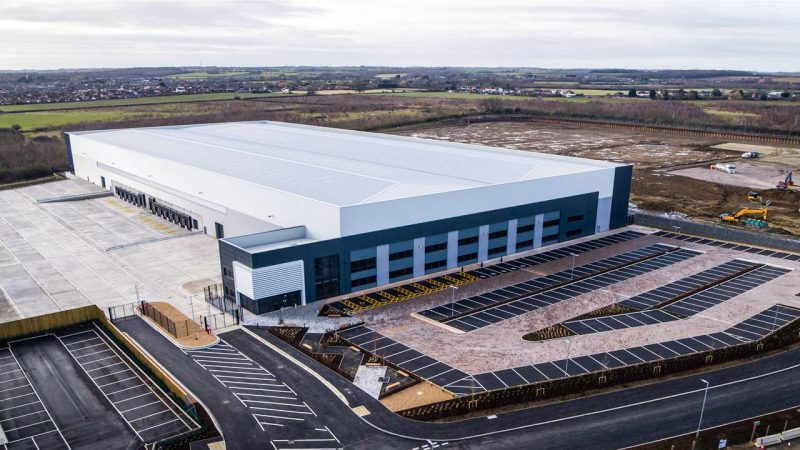 Carlton Packaging new warehouse