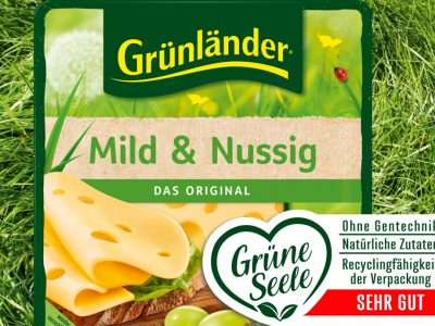 """""""Made for Recycling"""": Interseroh and Hochland optimise the recycling capability of the """"Grünländer"""" packaging"""