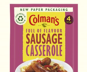 Mondi and Unilever serve up aluminium-free paper-based packaging for Colman's Meal Makers