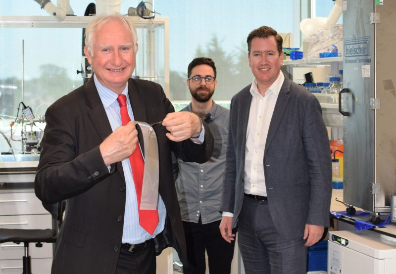MP visits lab turning peas into next generation plastic