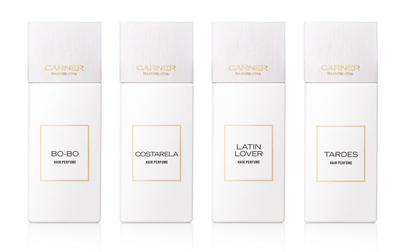 Mediterranean fragrances for hair with sustainable wooden caps