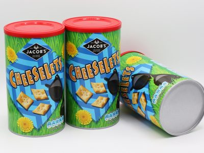 Pladis Further Boosts Sustainability Credentials Through Sonoco's Fully Recyclable EnviroCan™ with Paperboard End