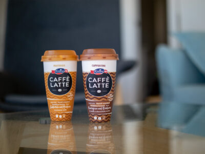 Emmi, Borealis and Greiner Packaging partner up to create first chemically recycled polypropylene ready to drink iced coffee cups