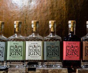 The Label Makers create distinctive sustainable labels for York Gin's new look range