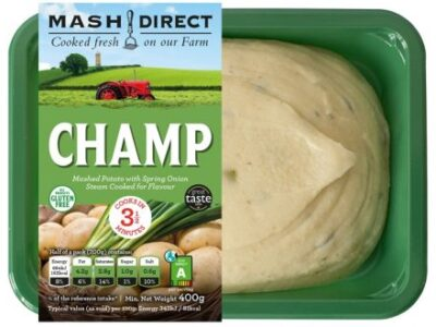 Mash Direct encourages customers to buy more sustainably with innovative eco-scored packaging