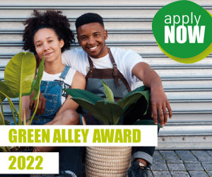 Green Alley Award 2022: Call for Applications are open