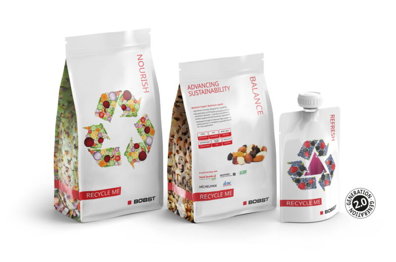 BOBST and project partners launch 'Generation 2.0' samples of high barrier flexible packaging solutions designed for recyclability