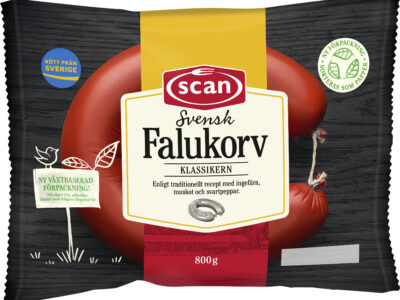 Sweden's best-selling sausages now wrapped in renewable paper-based packaging by Mondi