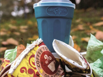 FairCup offers an alternative to single-use products