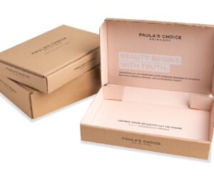 Sustainable packaging for Paula's Choice – on time, on budget and on brand