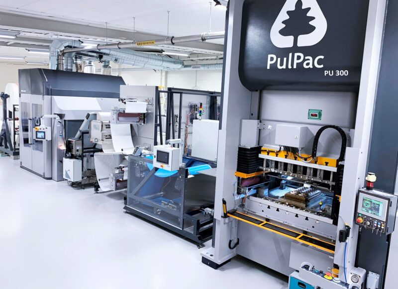 PulPac, RISE and AR Packaging in Dry Molded Fiber upscaling and validation consortium