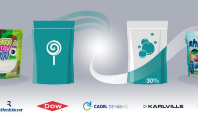 Dow, HP, Reifenhäuser, Cadel Deinking, and Karlville deliver pioneering recycling proof of concept to help close the loop for digitally printed pouches
