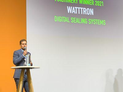 watttron wins the Sustainability Award 2021