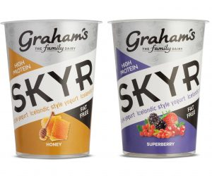 Graham's, The Family Dairy reduces plastic and makes Skyr more sustainable