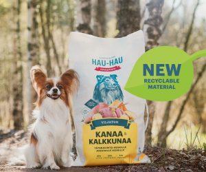 Mondi and Vafo Group unleash recyclable dog food packaging for leading Finnish brand Hau-Hau Champion