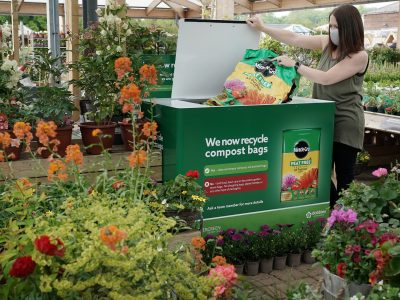 From Compost Bags to Plaswood® Furniture – Scheme Demonstrates the Recyclability of Plastic Film