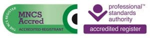 Professional Standards Authority National Counselling Society Accredited Registrant Credence Counselling
