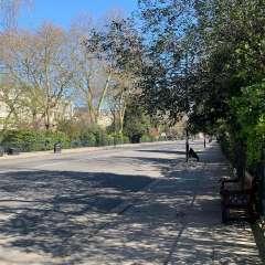 Eaton Square - deserted
