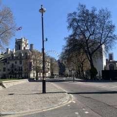 Parliament Square - deserted