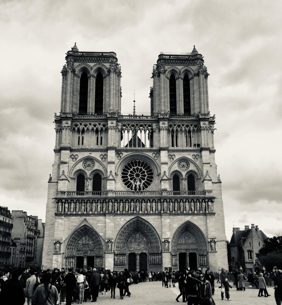 Notre-Dame in April 2015