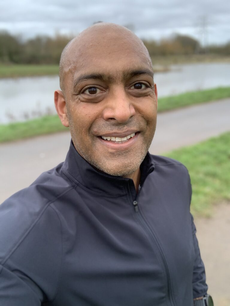 A gentle Saturday jog after injury