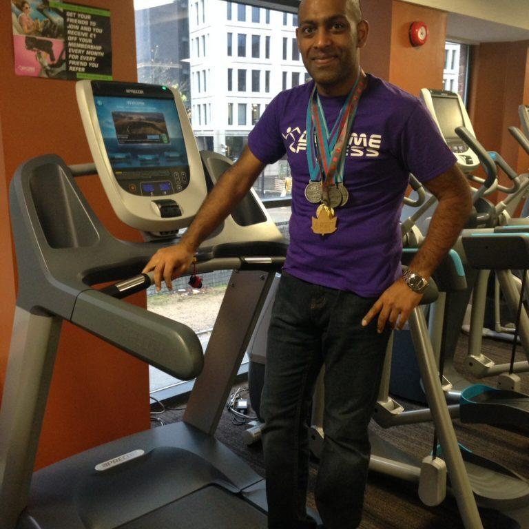 3 half-marathons & a treadmill...