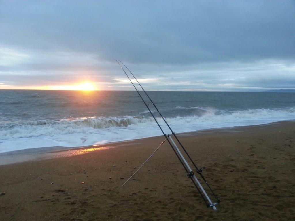 Chesil sunset