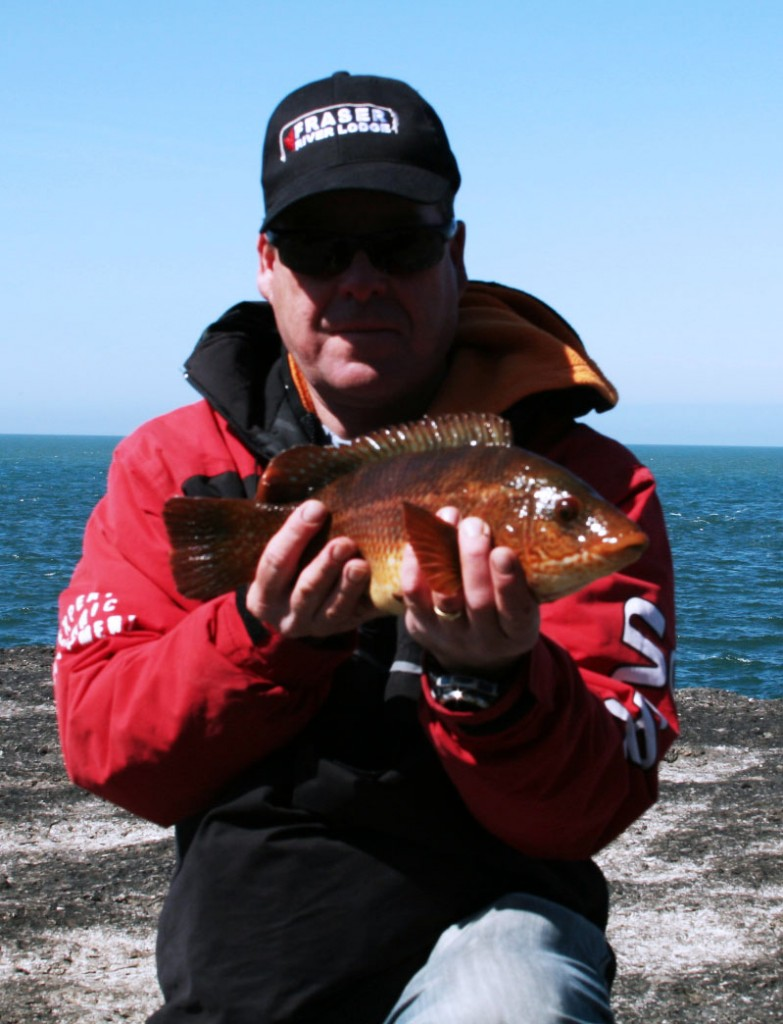 Me with Wrasse