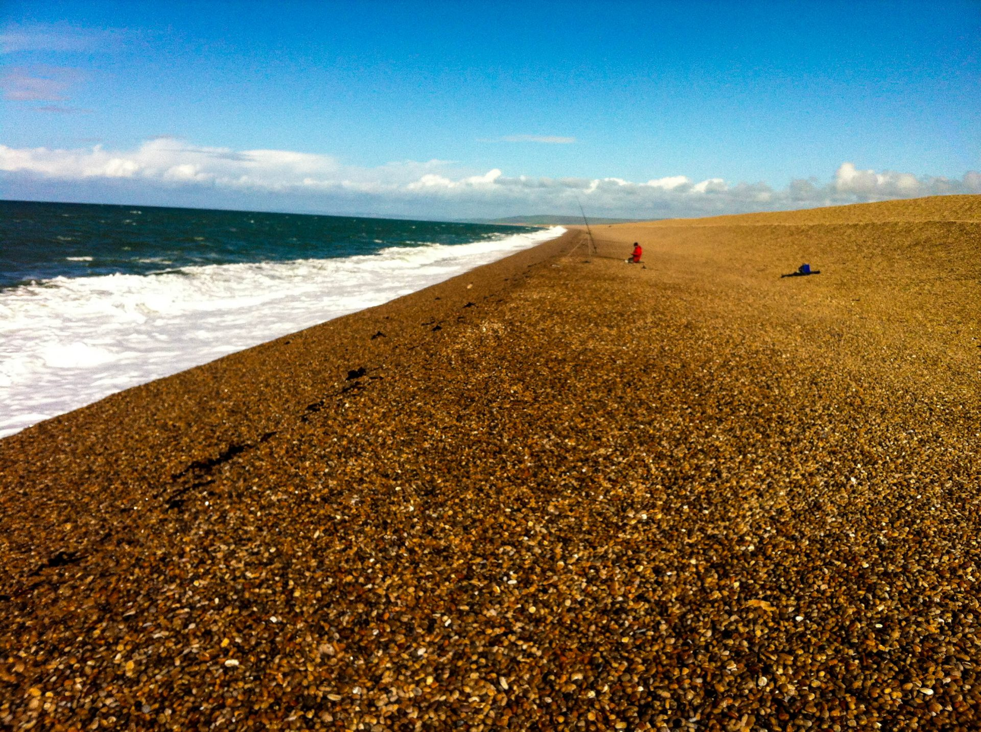 Chesil after a storm