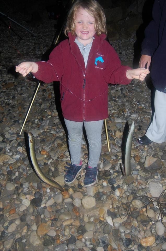 double shot of eels