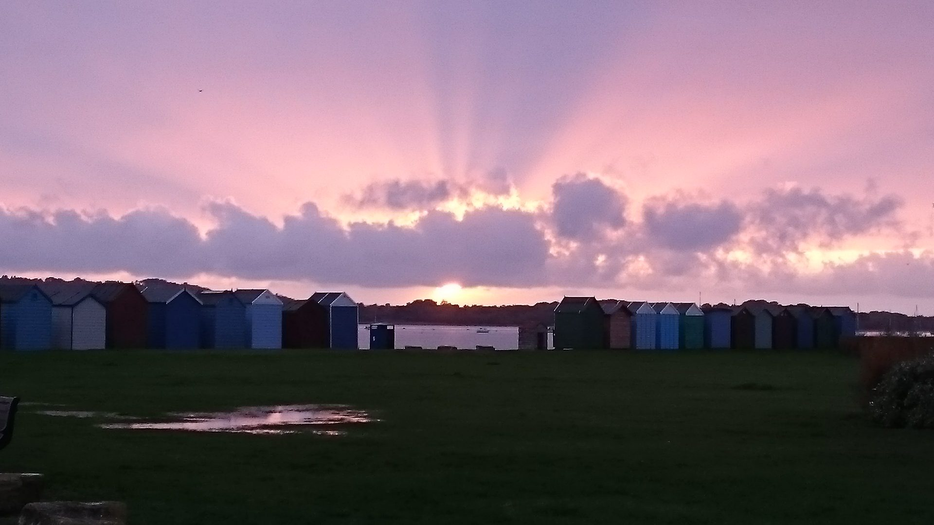 Southbourne beach huts