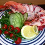 Bassman's Cheeky Lobster salad
