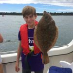 Summer fishing report from the Poole area