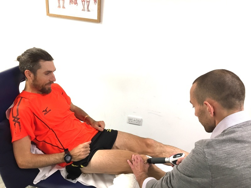 Shockwave therapy:how it can help runners