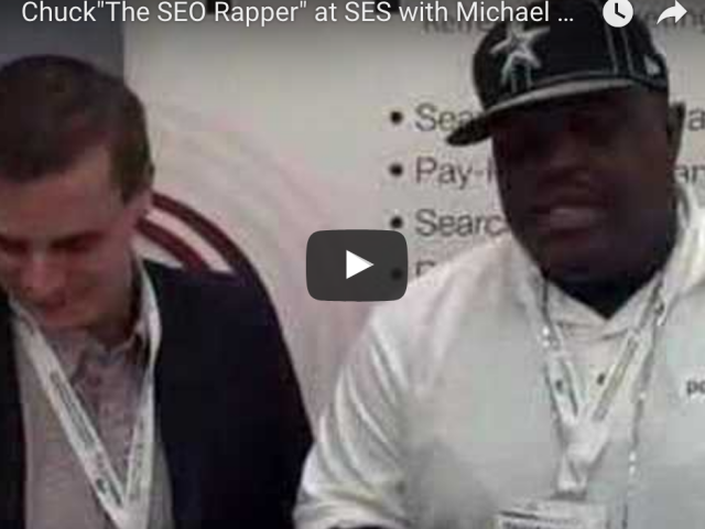 The SEO Rapper at SES with Michael Orlinski