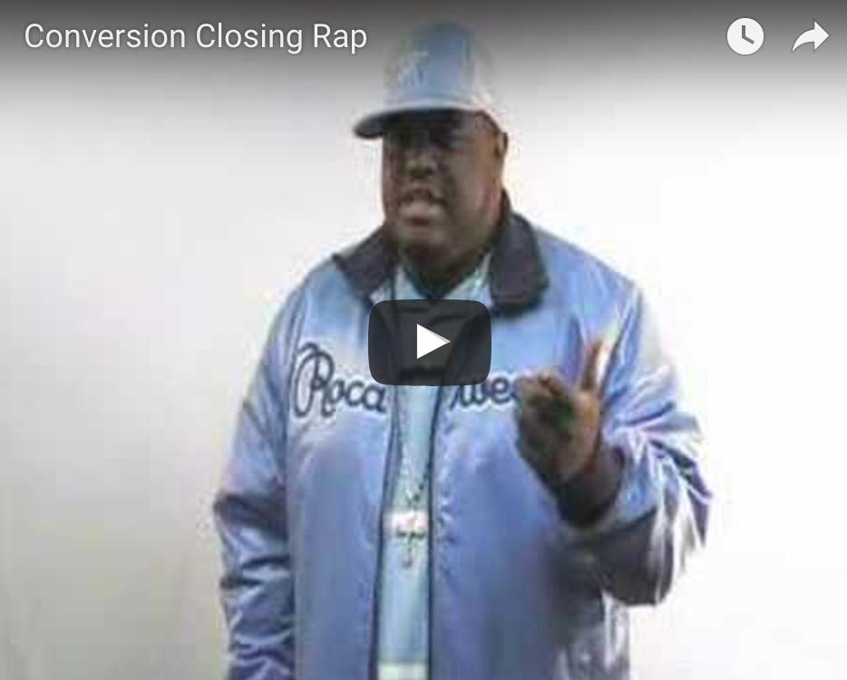 Conversion Closing The SEO Rapper