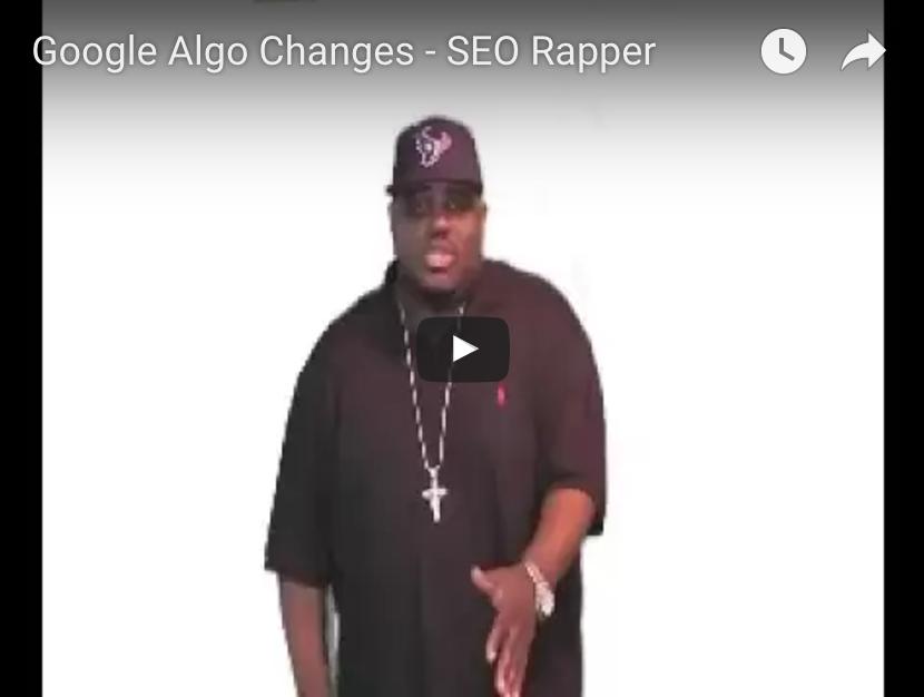Google Algo Changes The SEO Rapper