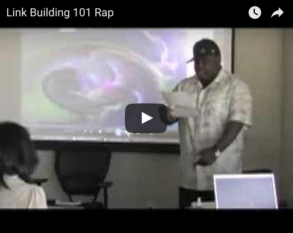 Link Building 101 The SEO Rapper